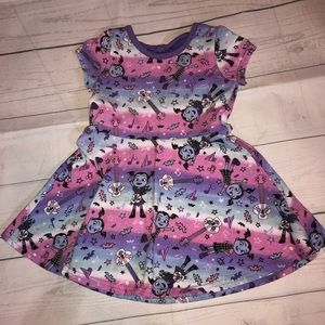 Disney Jr. Vamperina Dress Size 4T